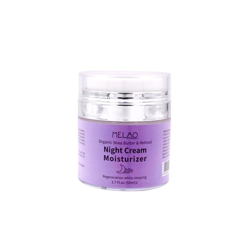 skin care High Quality Night Cream Organic Retinol Moisturizer Nourishing Night Cream Hyaluronic Anti-Wrinkle 50g 3