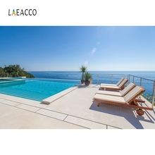 Laeacco On Holiday Summer Palm Tree Sun Bath Photography Backgrounds Customized Photographic Backdrops For Photo Studio