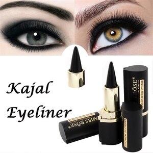 Maquillaje delineador color negro resistente al agua Gel profesional Natural de hacer los ojos tatuaje lápiz de ojos colores lápiz de ojos impermeable