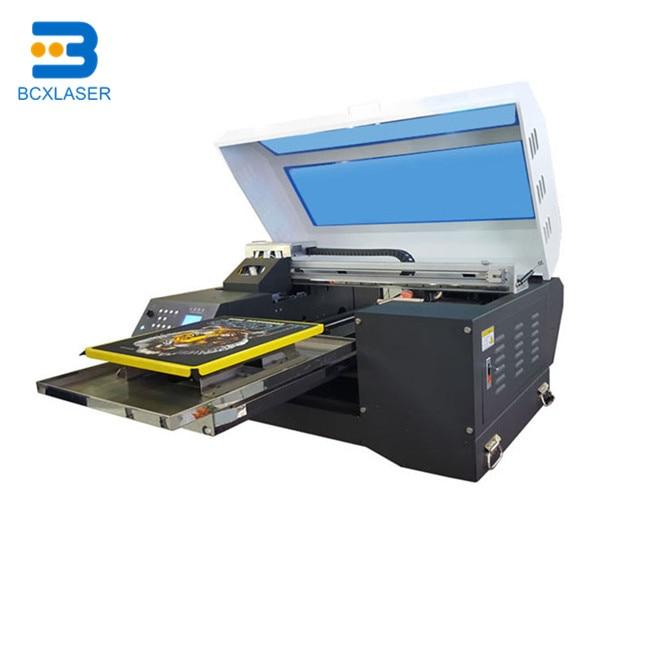 Inkjet T-Shirt Textile Printer DTG Digital Sublimation Printing Machine With Dx5 Print Head