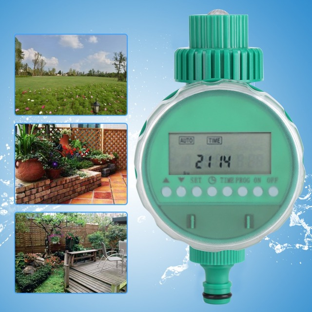 Garden Automatic Irrigation Controllers Water Timer Intelligent Time Electronic Digital LCD Electronic Gardening Watering Timers