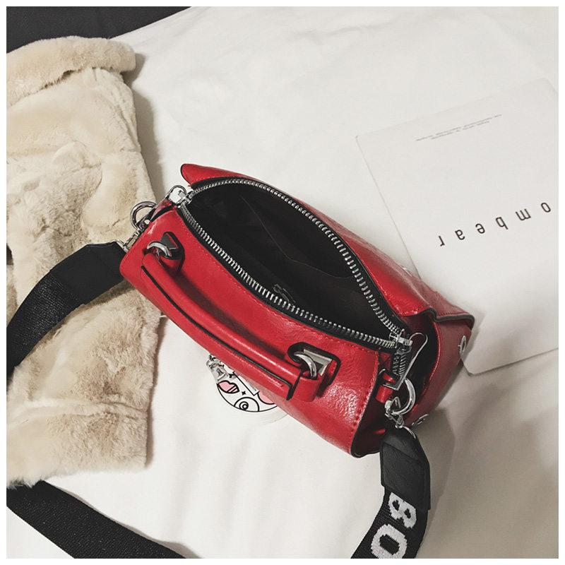 VOLESS Women Shoulder Messenger Bag Handbag Fashion Letter Decoration Tote Bags Wide Strap Crossbody Bag For Women Sac A Main