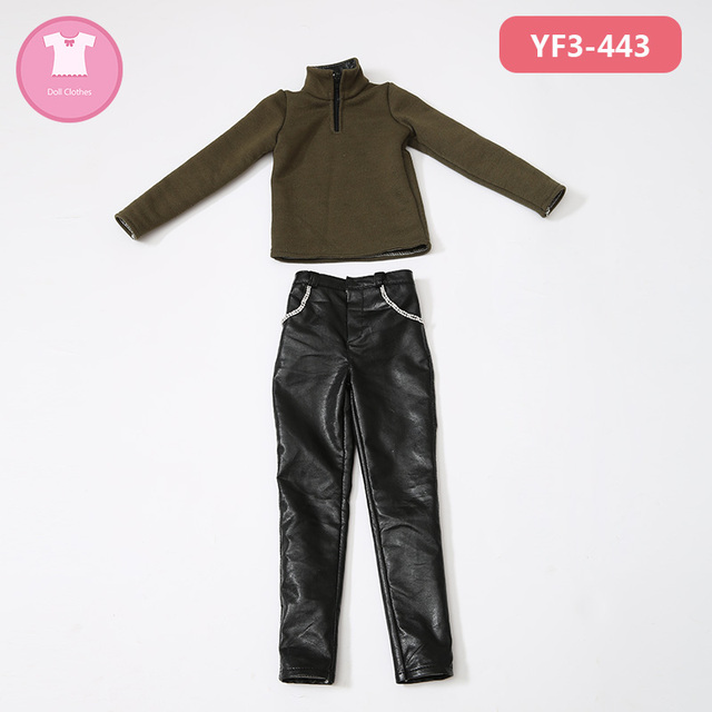 BJD SD Doll Clothes 1/3 The Boy Suit Sports Leisure Sweater Pants For Supergem Dollshe Body Doll Accessories KUKUCLARA