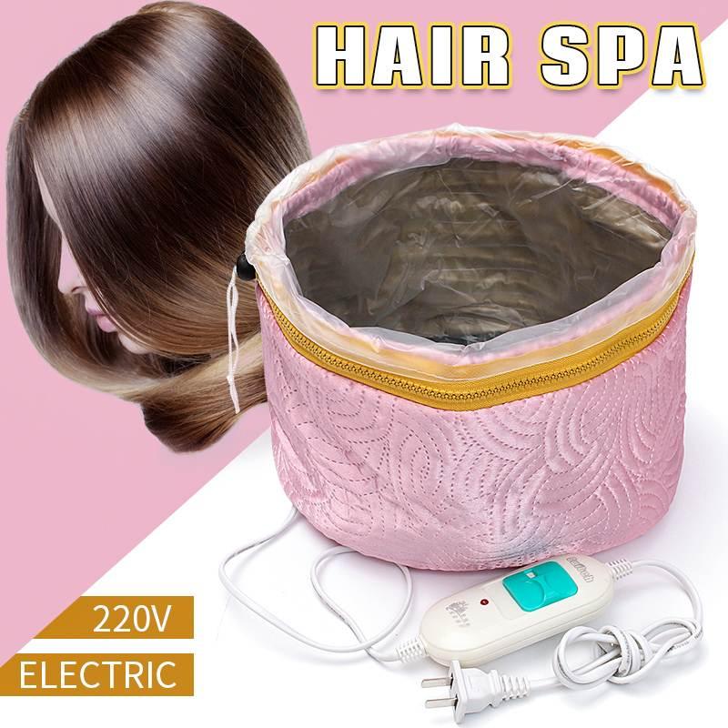Electric Hair Cap Hat Salon Spa Steamer Hair Thermal Treatment Nourishing Hair Mask Baking Oil Cap Hair Dryers Heat Hat Safety