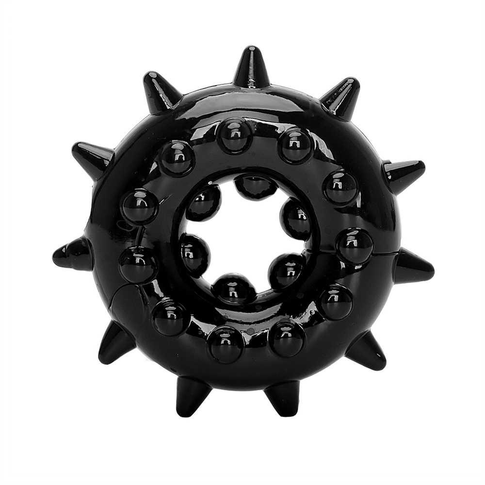 VATINE פין טבעת זכר זקפה אלונקה הגדלת Extender זין טבעת צעצועים ארוטיים לגברים סיליקון סקס צעצועים
