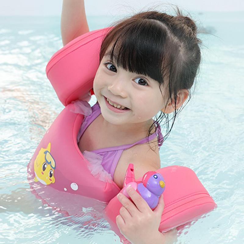 Inflation Child Baby Swimming Arm Ring Float Solid Floating Children Waist Floats Swimming Pool Toy For Children Learning Swim