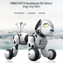Get more info on the DIMEI 9007A 2.4G Wireless Remote Control Smart Robot Dog Kids Toy Intelligent Talking Robot Dog Toy Electronic Pet Birthday Gift