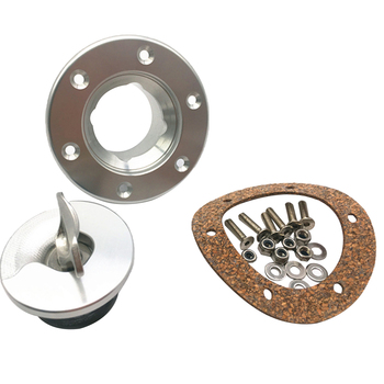 3pcs Stainless Steel Fuel Cell/Fuel Surge Tank Cap Flush Mount Cap Auto Replacement Parts Anti-corrosion