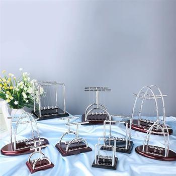 Newton Cradle Balance Steel Balls School Teaching Supplies Physics Science Pendulum Desk Toy Gifts Home Decoration 2