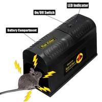 Electronic Mouse Mice Rat Zapper Exterminator Rodent Trap Killer Victor Control With US Plug for Home Kitchen Use