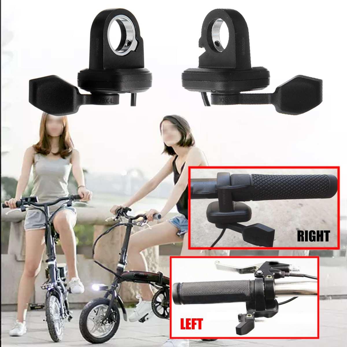 Wuxing 24~72V Universal e-Bike Thumb Throttle for Electric Ebike Speed Control