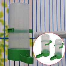 Bird Water Drinker Feeder Waterer with Clip Pet Bird Supplies for Parrots Aviary Budgie Cockatiel Lovebird 4PCS(China)