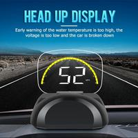 VODOOL C700S Car Head up Display HUD OBD2 OBDII Head Up Display with Mirror Overspeed Warning System Speed Projector Accessories