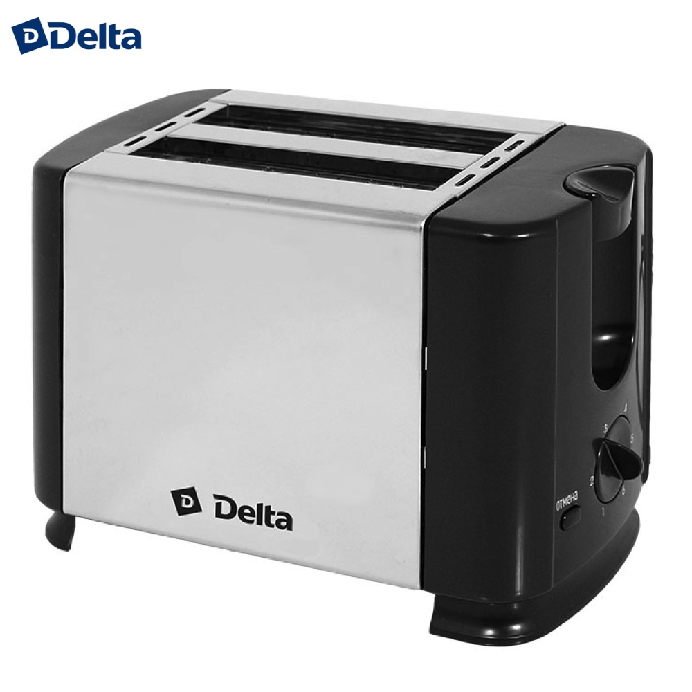 Toasters DELTA  Р0001000902 Cooking Appliances Toaster DL-61 with decoration Delicious bread breakfast