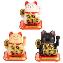 Chinese Lucky Cat Wealth Waving Shaking Hand Good Luck Fortu
