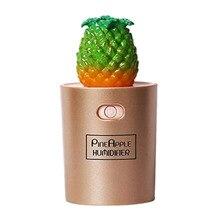 EAS-Pineapple Humidifier Usb Mini Home Air Humidifier Small Ultrasonic Atomizer,[Energy Class A]