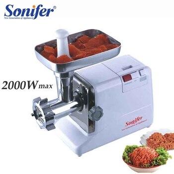 Sonifer – 2000w lihamylly näytöllä