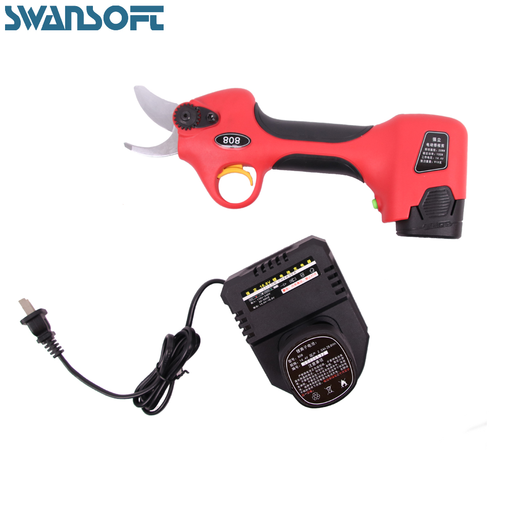 Electric pruner and electric pruning shear for garden and vineyard  /freeshipping/garden tools
