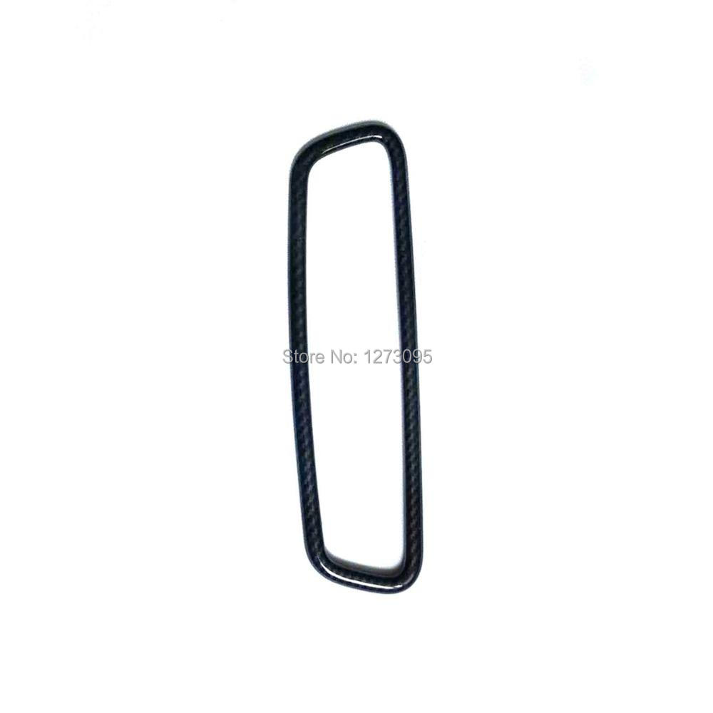 For 2017 2018 Jaguar XE X760 ABS Rearview Mirror Cover Endoscope Frame Decorative Trim Sticker Car Styling Accessory for 2017 2018 jaguar xe x760 abs interior accessories front inner reading light lamp cover frame trim car styling accessory