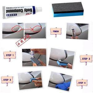Image 3 - 15g Car Body Compound Paste Set Scratch Paint Care Auto Polishing Grinding Compound Sponge Repair Kit Paint Maintenance Care