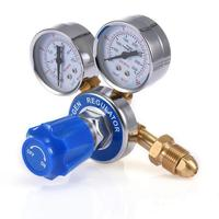 Air Pressure Regulator Mig Tig Flow Meter Medium Copper Relief Valve Brass Oxygen Pressure Regulator