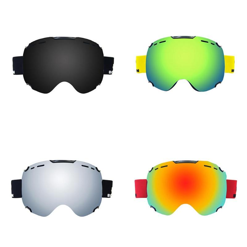 Adults Double Lens Ski Goggles Anti-fog Uv Protection For Outdoor Sports Skiing Goggles Snow Snowboard Protective Glasses Eyewea Be Novel In Design