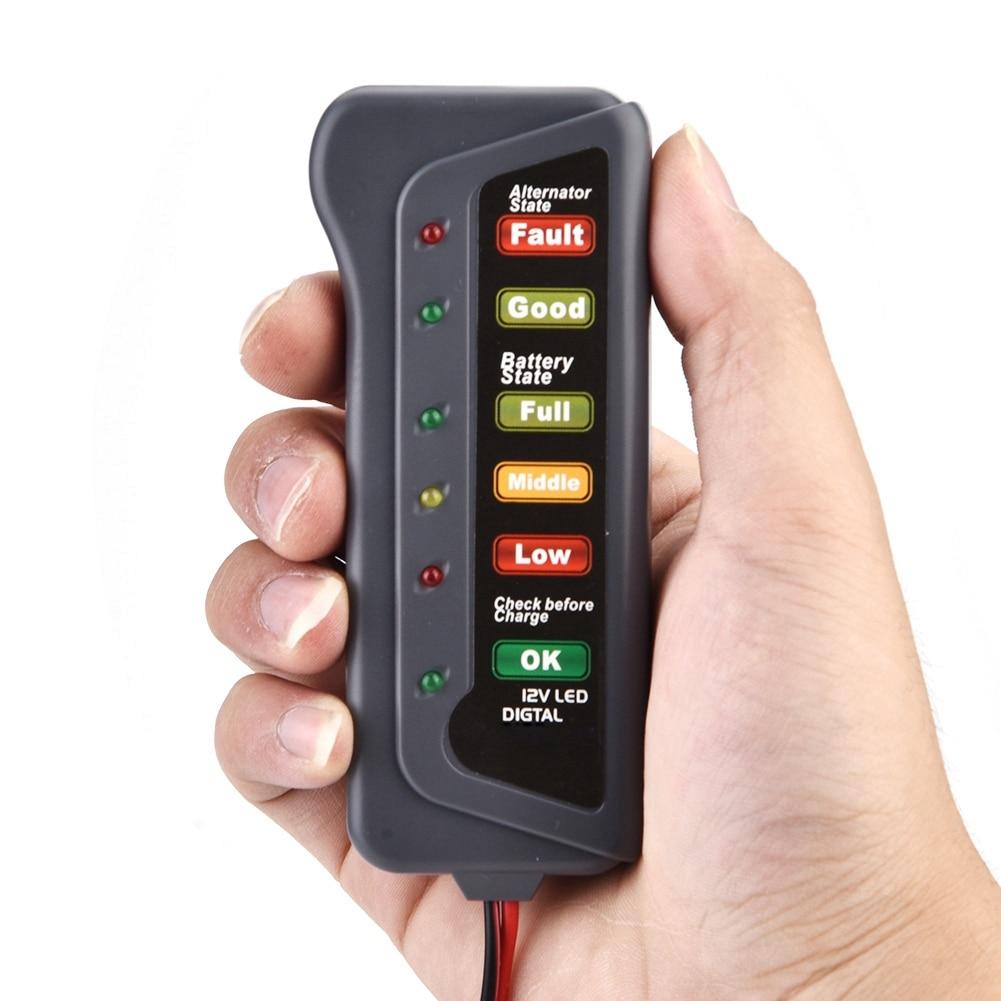 Car Battery /& Alternator Tester for Citroën Saxo 12v DC Voltage Check
