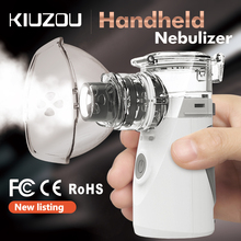KIUZOU Portable Ultrasonic Nebulizer Mini Handheld Inhaler Respirator Humidifier Kit Health Care Children Home  Atomizer