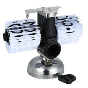 Image 3 - Flip דיגיטלי שעון קטן בקנה מידה שולחן שעון רטרו Flip שעון נירוסטה Flip הפנימי Gear מופעל קוורץ שעון בית תפאורה