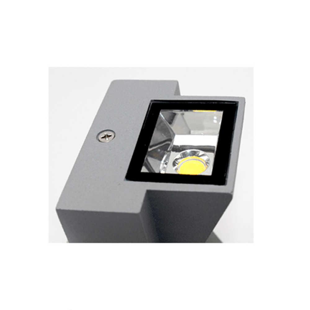 3 Вт 6 Вт современный простой креативный Открытый водонепроницаемый настенный светильник светодиодный наружный дворовый светильник лампа для ворот лампа для террасы балкон садовая лампа