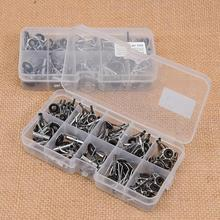 80Pcs Fishing Rod Guide Abu Garcia Angeln Tip Set Repair Kit