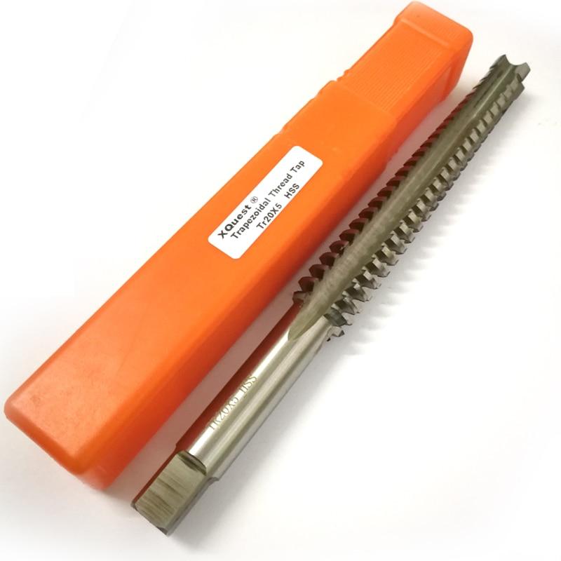 HSS Right Hand Metric Trapezoidal thread tap TR20 T20 TR20X2 TR20X3 TR20X4 TR20X5 Screw thread Trapezoid