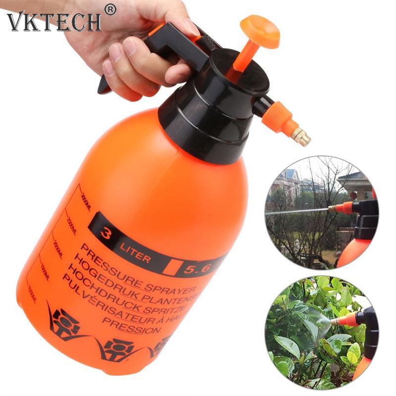 Portable Pressure Garden Spray Bottle Kettle Plant Flowers Irrigation Watering Can Sprayer Garden Tools 0.8L/1.5L/2L/3L