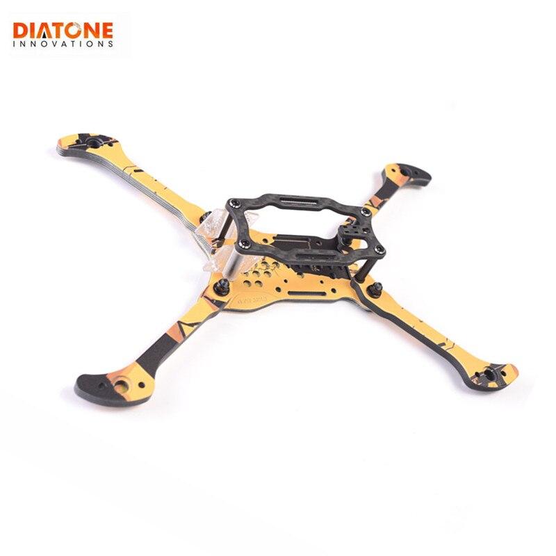 Diatone 2019 GT R MK3 5 pouces 200mm 73g empattement 6mm bras Kit de cadre en Fiber de carbone pour Drone RC