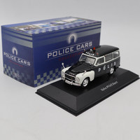Atlas 1:43 Volvo PV445 Duett Police Cars Collection Diecast Models Car Toys