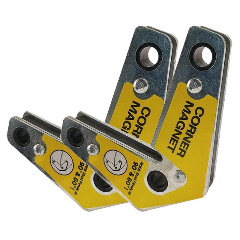 2pcs Double Head Welding Positioner Fixer Magnetic Position Welding Device UK