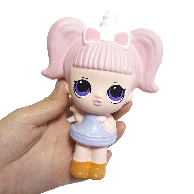 24PCS Lot New Cute Cartoon Dolls Squishies Slow Rising Scented Toys Action Figure Smooshy Mushy Gift
