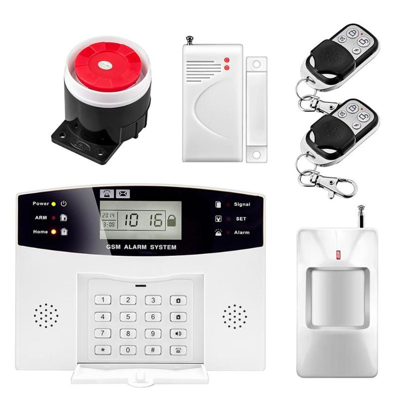 Wireless Alarm System SMS GSM PSTN Network Home PIR Motion Security Door Open DetectorWireless Alarm System SMS GSM PSTN Network Home PIR Motion Security Door Open Detector
