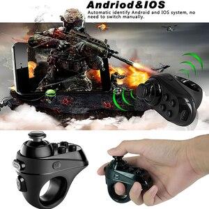 Image 5 - DOITOP Mini Vòng Tay Cầm Chơi Game Tay Cầm Chơi Game Giải Trí USB Bluetooth 4.0 Đen Bộ Điều Khiển Từ Xa Không Dây Joystick Dành Cho IOS Android