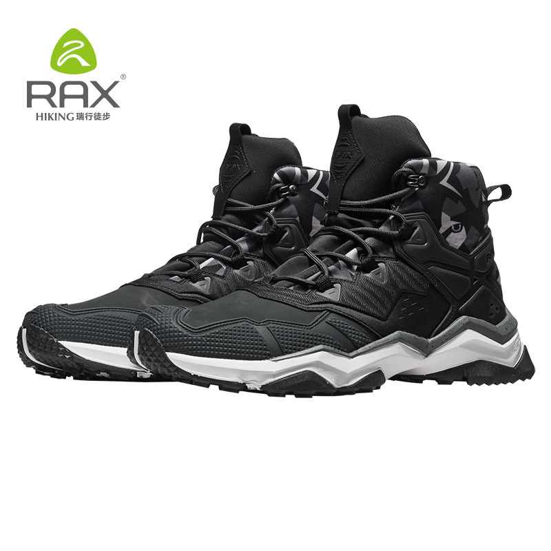 b84dd9e91f7 Rax Hiking Boots Men Waterproof Winter Outdoor Sports Sneakers for Men  Lightweight Hiking Shoes Breathable Antislip Trekking -in Hiking Shoes from  Sports ...