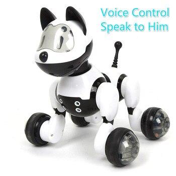 Youdi Голосовое управление собака и кошка умный робот электронный для домашнего животного программа Танцы Прогулки Роботизированная Игрушка...