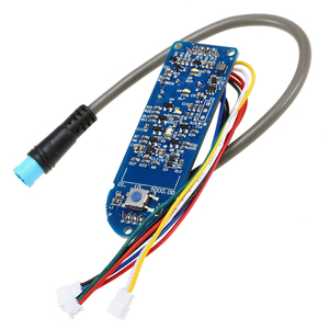 Image 2 - Scooter Dashboard Battery Indicator Switch Panel Circuit Board for M365 Electric Scooter Electric Bicycle Controller