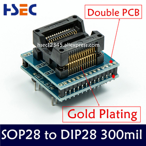 Image 4 - 11pcs SSOP28 TSSOP28 TSSOP8 SOP28 SOP20 SOP16 SOP8 to dip8 150mil 200mil 1.8V adapter compatible tssop20 ssop20 socket adapters