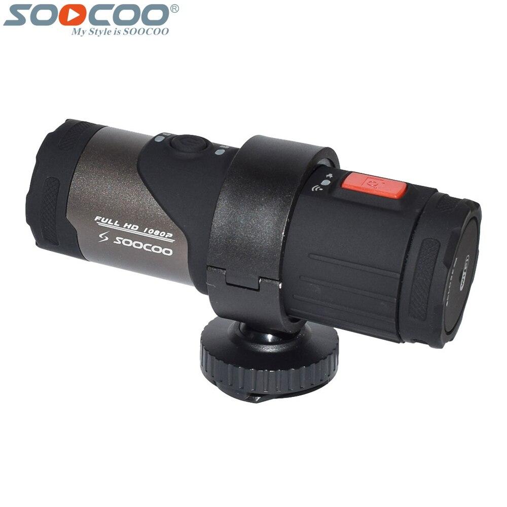 Caméra d'action Wifi S20WS fucoo 170 degrés de large objectif 1080 P Full HD 10 m étanche casque de vélo en boucle Mini caméscope de sport