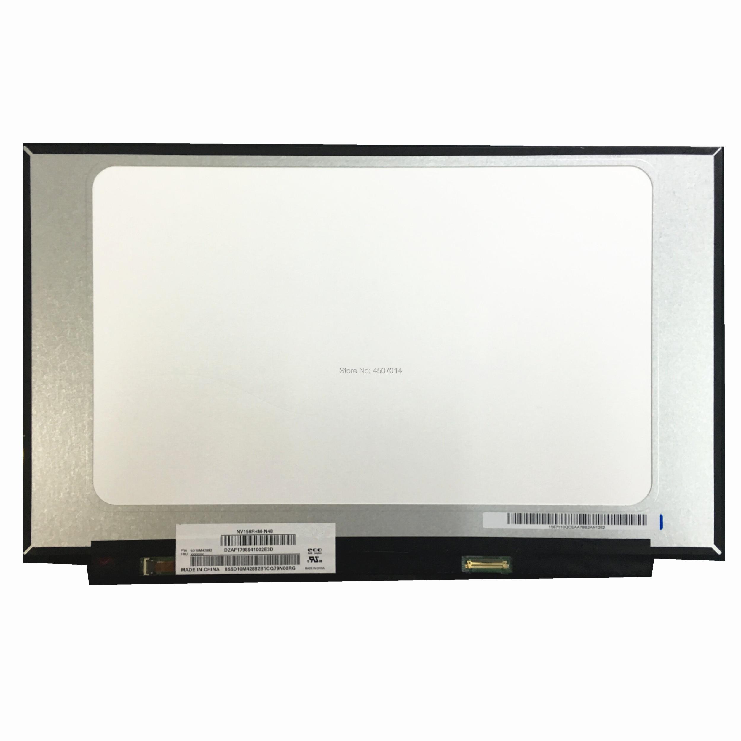 Free Shipping NV156FHM-N48 NV156FHM N48 15.6Laptop Lcd Screen 1920*1080 EDP 30 Pins IPS Lcd Screen Display ReplacementFree Shipping NV156FHM-N48 NV156FHM N48 15.6Laptop Lcd Screen 1920*1080 EDP 30 Pins IPS Lcd Screen Display Replacement