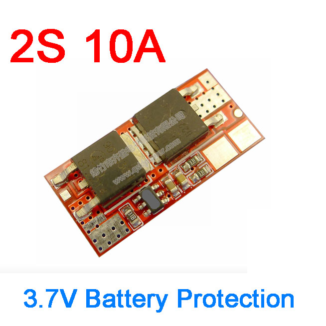 1S 10A 3.7V BMS Battery Charging Protection PCB Board Li-ion lithium 18650 Cell