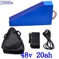 Batería para bicicleta eléctrica de 48V  1000W  2000W  48V  20Ah  48V  20Ah  batería de litio de 48 voltios con cargador 5A