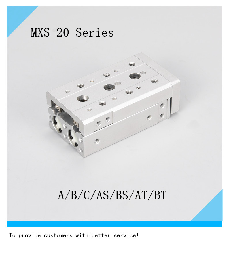 SMC type air cylinder MXS20-10/20/30/40/50/75/100/125/150AS/BS/AT/BT/A/B/C Pneumatic air slide tableSMC type air cylinder MXS20-10/20/30/40/50/75/100/125/150AS/BS/AT/BT/A/B/C Pneumatic air slide table