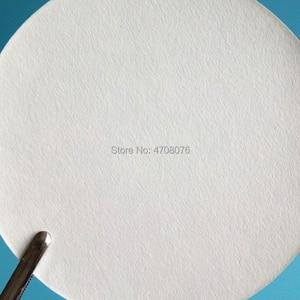 Image 2 - Dia 18cm 100 unids/caja papel de filtro de laboratorio redondo papel de filtro cuantitativo para embudo con rápido/Medio/lento velocidad 1 box/pack