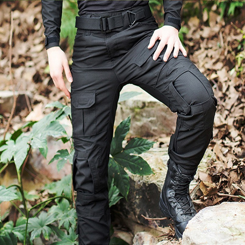 Men's Pro Tactical Camouflage Military Pants Men Rip-Stop Anti-pilling SWAT Combat Trousers Army Multiple Colour Cargo Pants